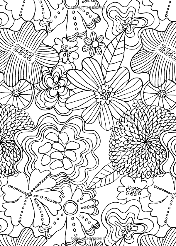 The Mindfulness Coloring Book Anti Stress Art Therapy For Busy People Emma Farrarons 9781615192823 Amazon Mindfulness Colouring Coloring Books Art Therapy
