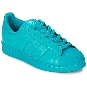 adidas neon blue shoes