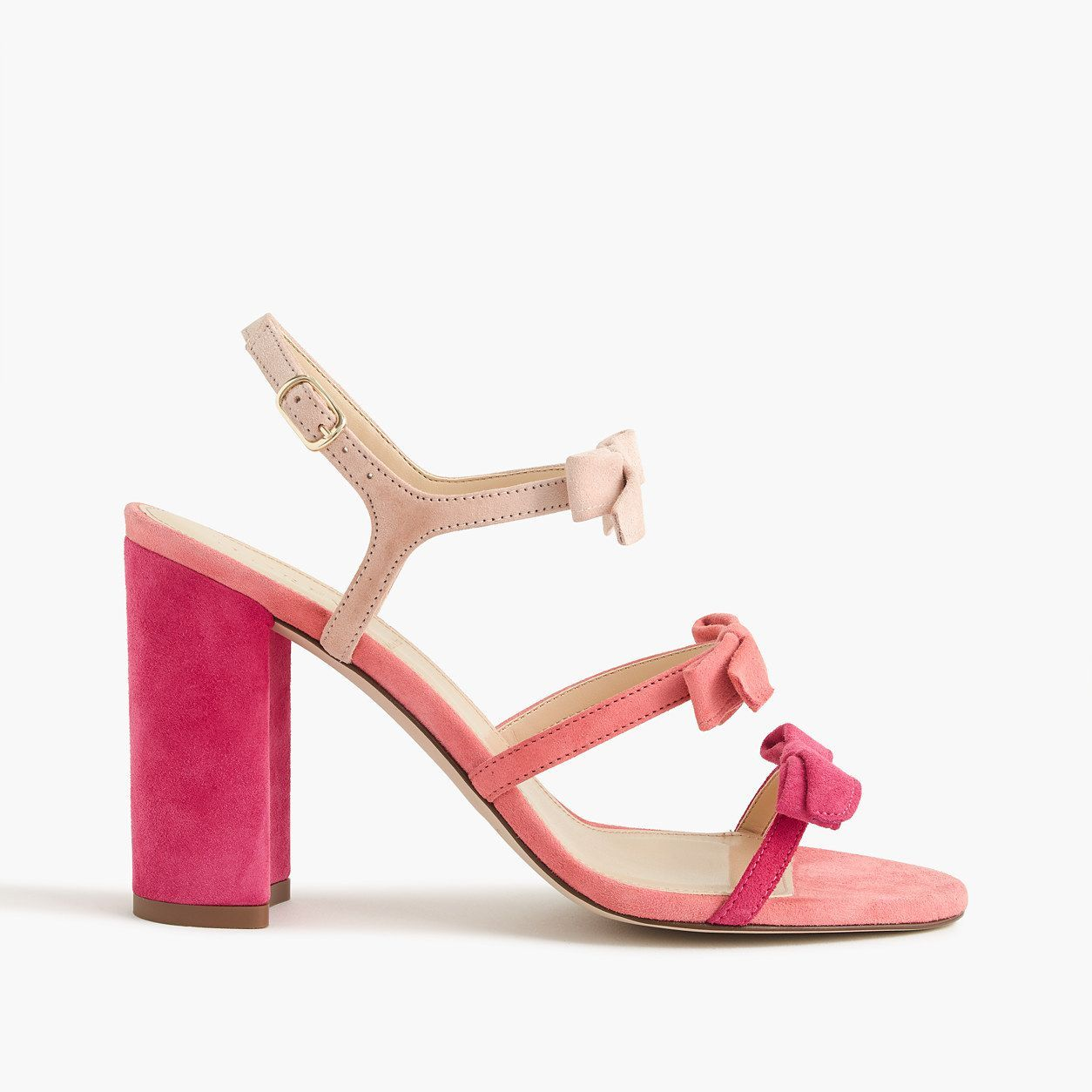 10cea331285 J.Crew Womens Stella Bow Heels In Fuschia (Size 5.5 M)
