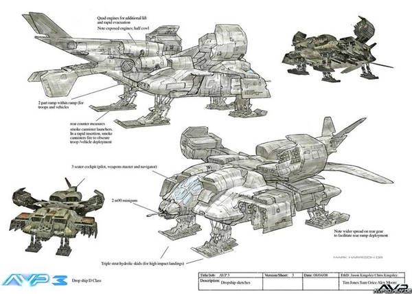 aliens series dropship