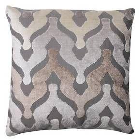 "Pillow Perfect Monroe Driftwood Throw Pillow - 16.5x16.5"" - Tan : Target"