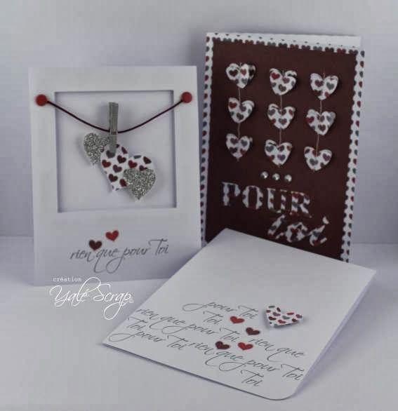 histoire de ou si le scrap tait cont trio de cartes pour valentine 39 s day id es de cartes. Black Bedroom Furniture Sets. Home Design Ideas