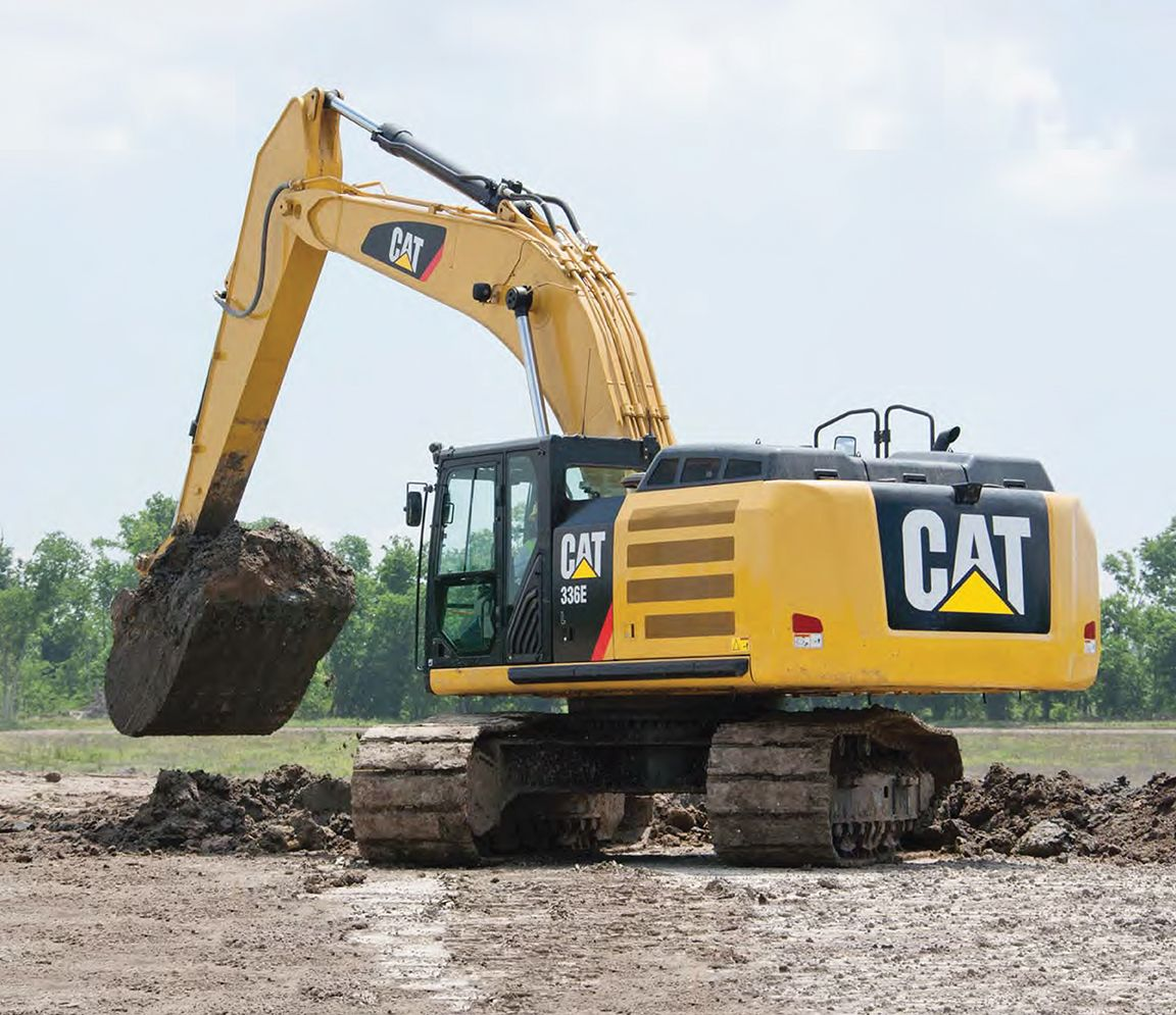 Caterpillar Equipment Toys : Cat e l hydraulic excavator review from equipment world