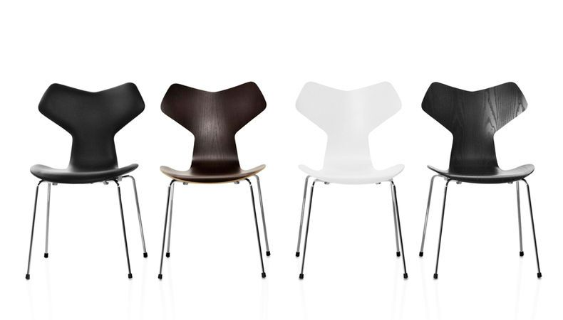 Grand Prix Chair By Fritz Hansen.