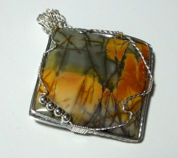 Cherry Creek Jasper from China by KathysKreation on Etsy SOLD