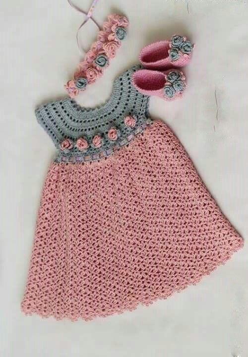 Cute little dress. Would look so lovely on my grandchildren   Baby ...