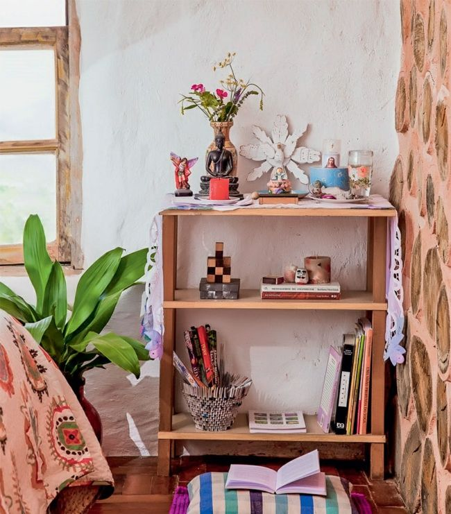 Nachhaltige Architektur Wohnideen Rustikales Schlafzimmer