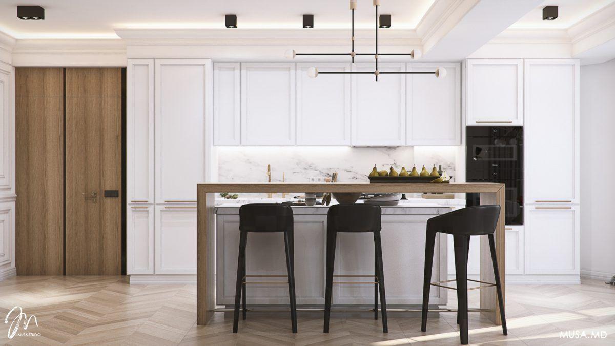 Modern neoclassical kitchen design in 2019 | Studio interior ...
