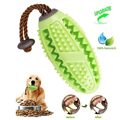 Dog Toothbrush Chew Toys, ONE PIX Multipurpose Dog Dental Care Teeth Cleaning Stick Toy with Rubber Bite Resistant #dentalcare