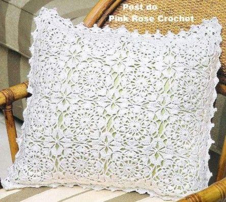 coussins et leurs grilles gratuites au crochet 7 pinterest le blog grille et le. Black Bedroom Furniture Sets. Home Design Ideas