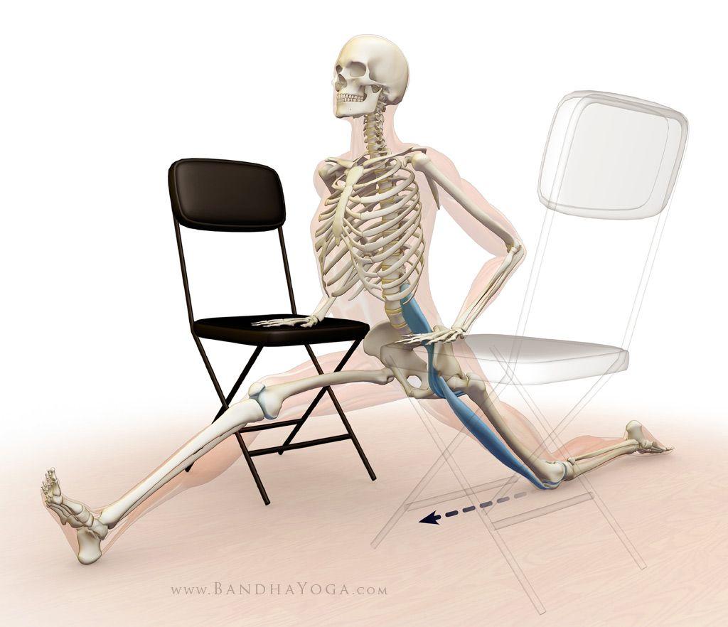 psoas de la pierna hacia atrás y recto femoral - tramo hanumanasana ...