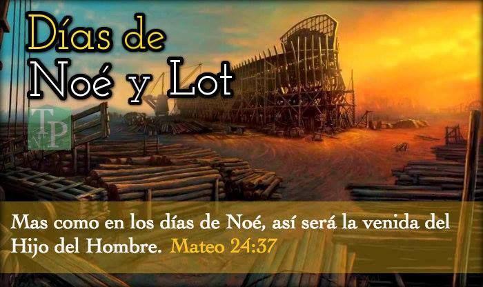 """En Mateo 24 y Lucas 17, Jesús nos da una clara advertencia de como sería el mundo antes de su venida. Pues dice su palabra que los tiempos serán como en los días de Noé. Mateo 24:37-39 … """" Mas como en los días de Noé, así será la venida del Hijo del Hombre. Porque …"""