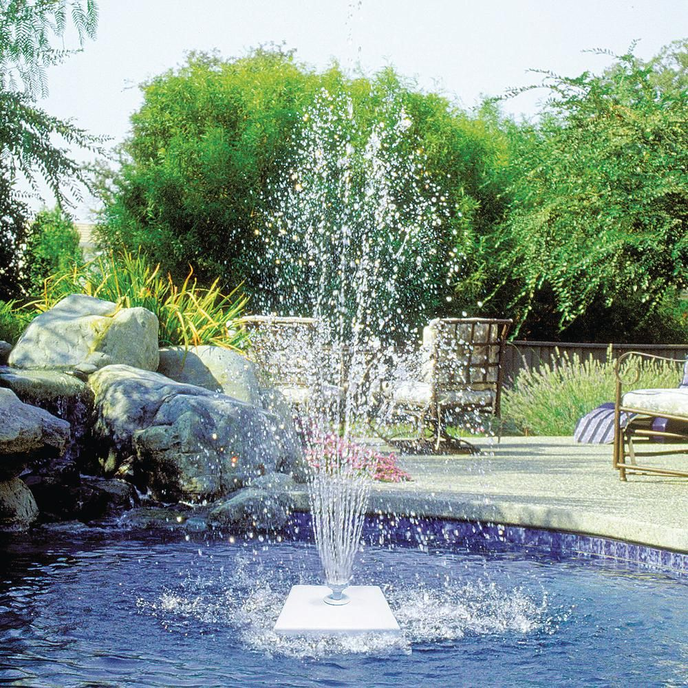 Poolmaster Grecian Floating Swimming Pool Fountain ...