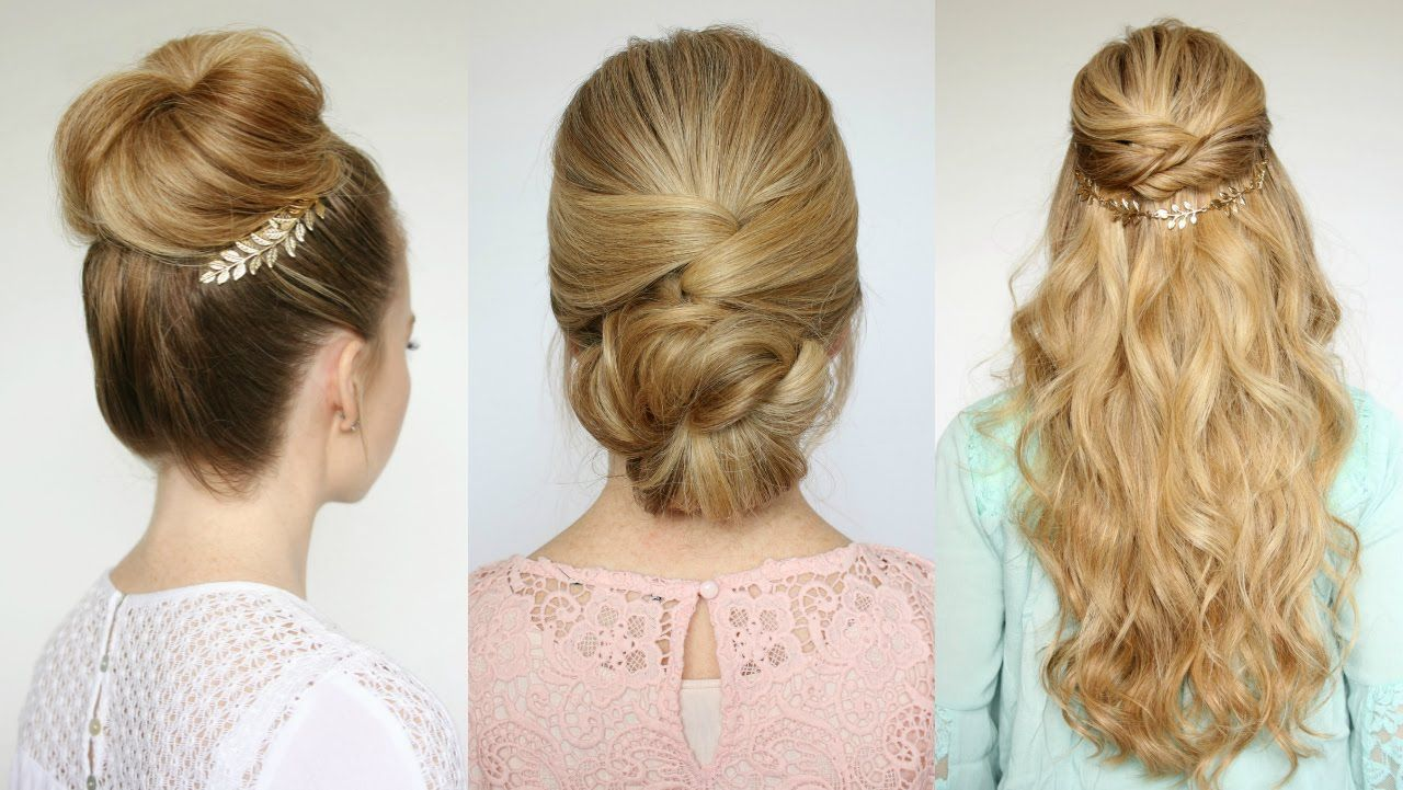 easy prom hairstyles missy sue youtube hair dos pinterest