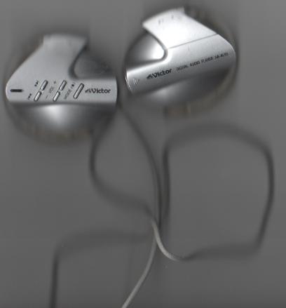 Victor DIGITAL AUDIO PLAYER XA-AL55 earphones