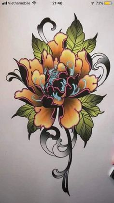 Asian Flower Tatoo : asian, flower, tatoo, Asian, Flowers, Tattoo, Designs, Japanese, Flower, Tattoo,, Designs,