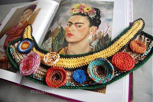 milushka / náhrdelník arara pestrofarebný