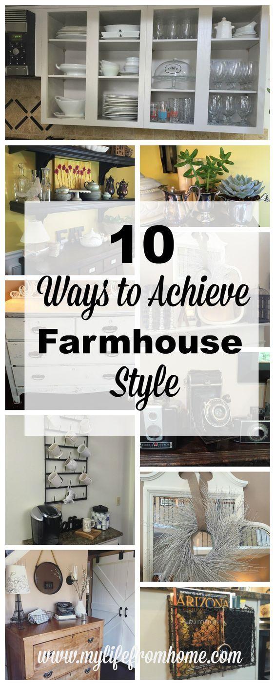 Do you love farmhouse style get the look yourself with 10 ways to do you love farmhouse style get the look yourself with 10 ways to achieve farmhouse solutioingenieria Images