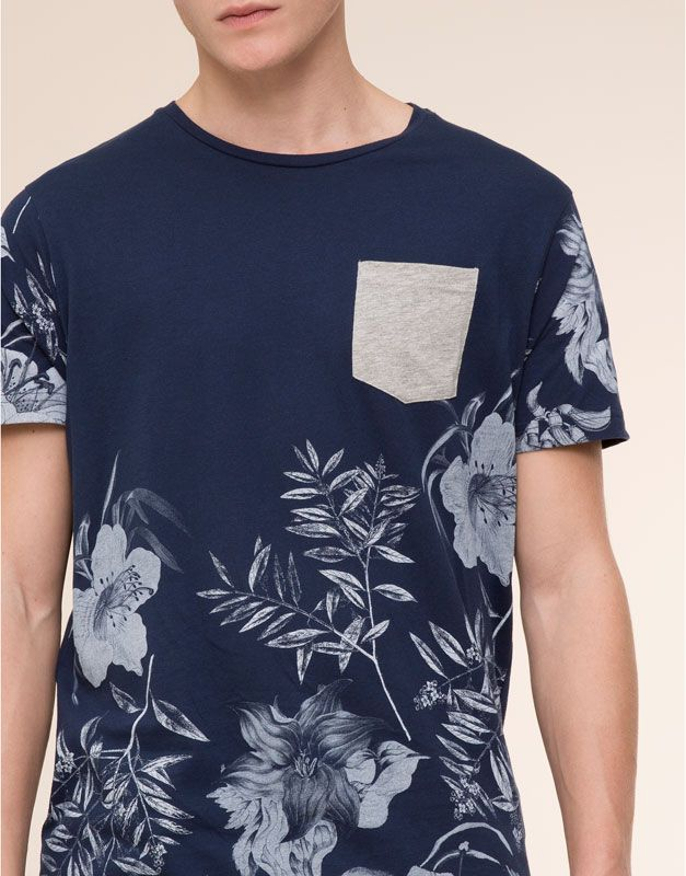 Camisetas Hombre Pull Bear Espana Ropa Casual Hombres Ropa De Moda Hombre Ropa Masculina