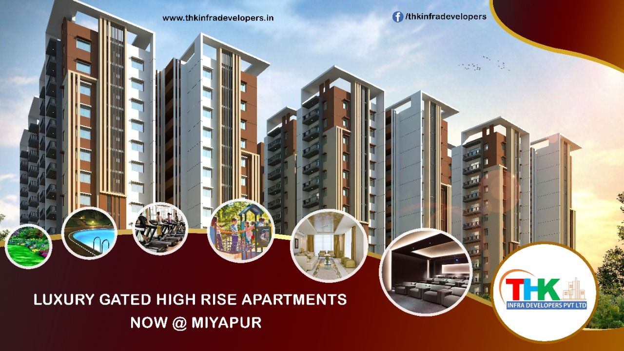 Luxury High Rise apartments in Miyapur in 2020 High rise