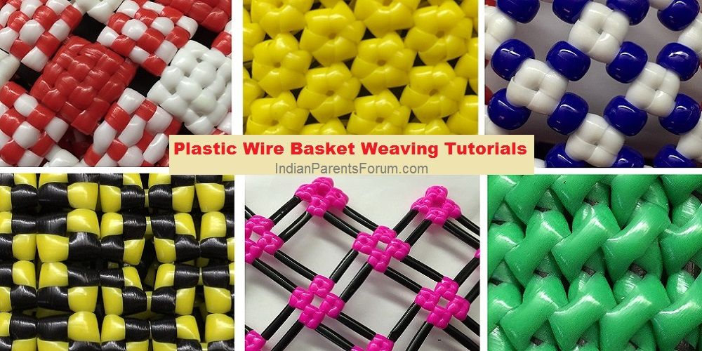 Weaving Tutorials - Indian Wire Baskets And More | Wire basket ...