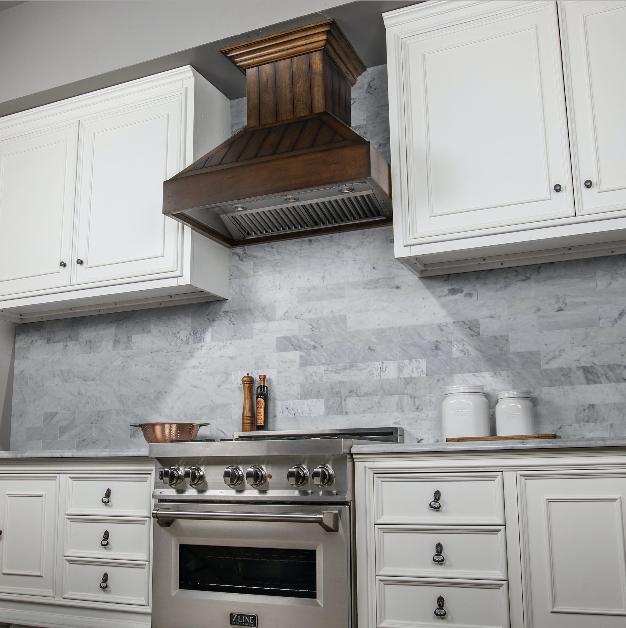 Beautiful Rustic Light Finish Range Hood Range Hood Rustic Lighting Kitchen Design
