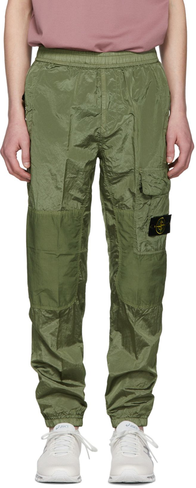 Stone Island Green Ripstop Cargo Pants Stone Island Clothing Luxury Streetwear Stone Island