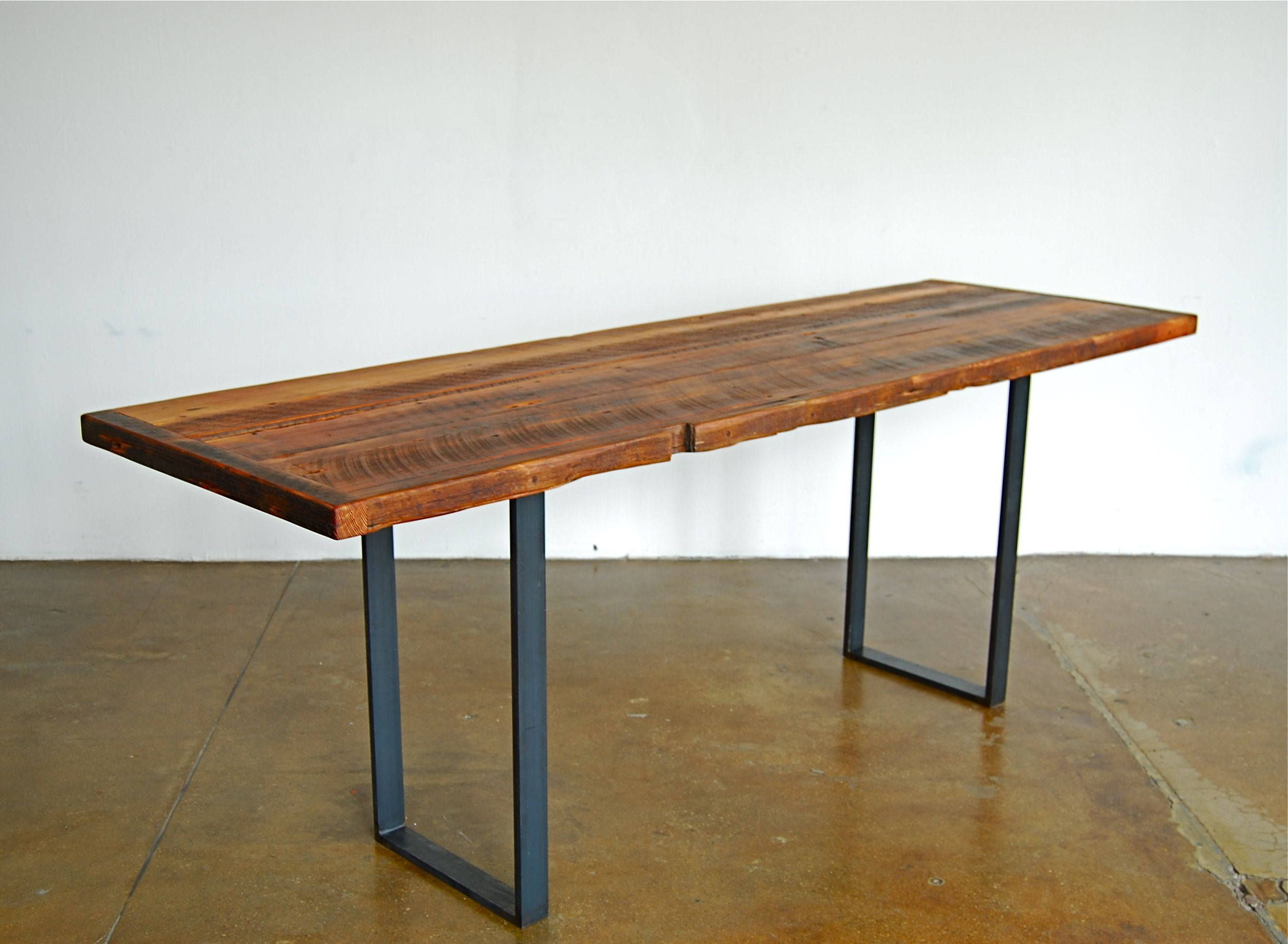 Functional Narrow Kitchen Table Uses Galley Kitchen Design