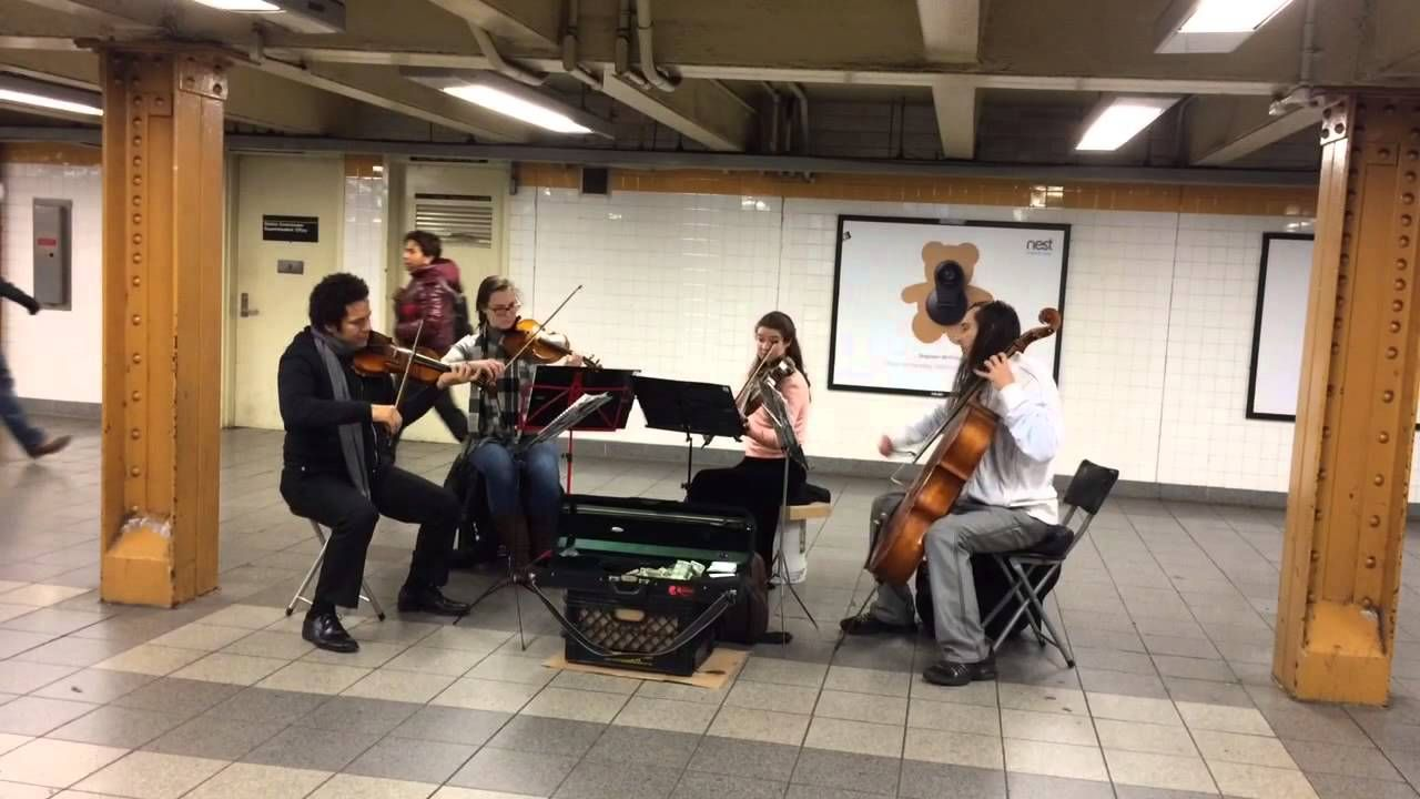 Classical music (and impromptu ballet) in the subway  My