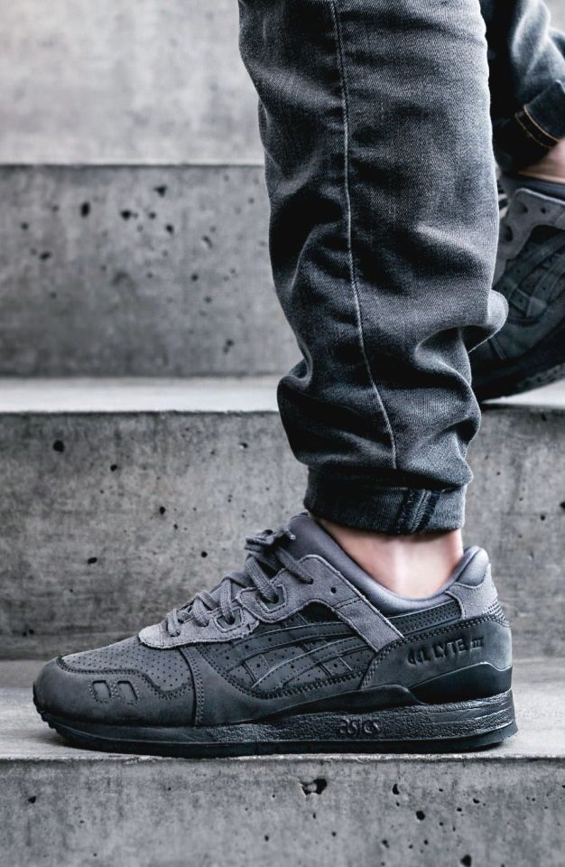 218cf2139 Asics Gel-Lyte III Dark Grey