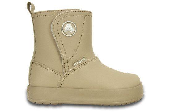 Sniegowce Crocs Colorlite 15840 Bezowy 30 R 29 5 5296654622 Oficjalne Archiwum Allegro Boots Comfortable Boots Rubber Rain Boots