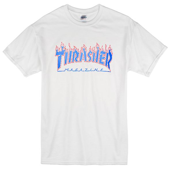 44a36ac5d Thrasher Magazine Patriot Flame T-Shirt in 2019 | T-Shirt Collection ...