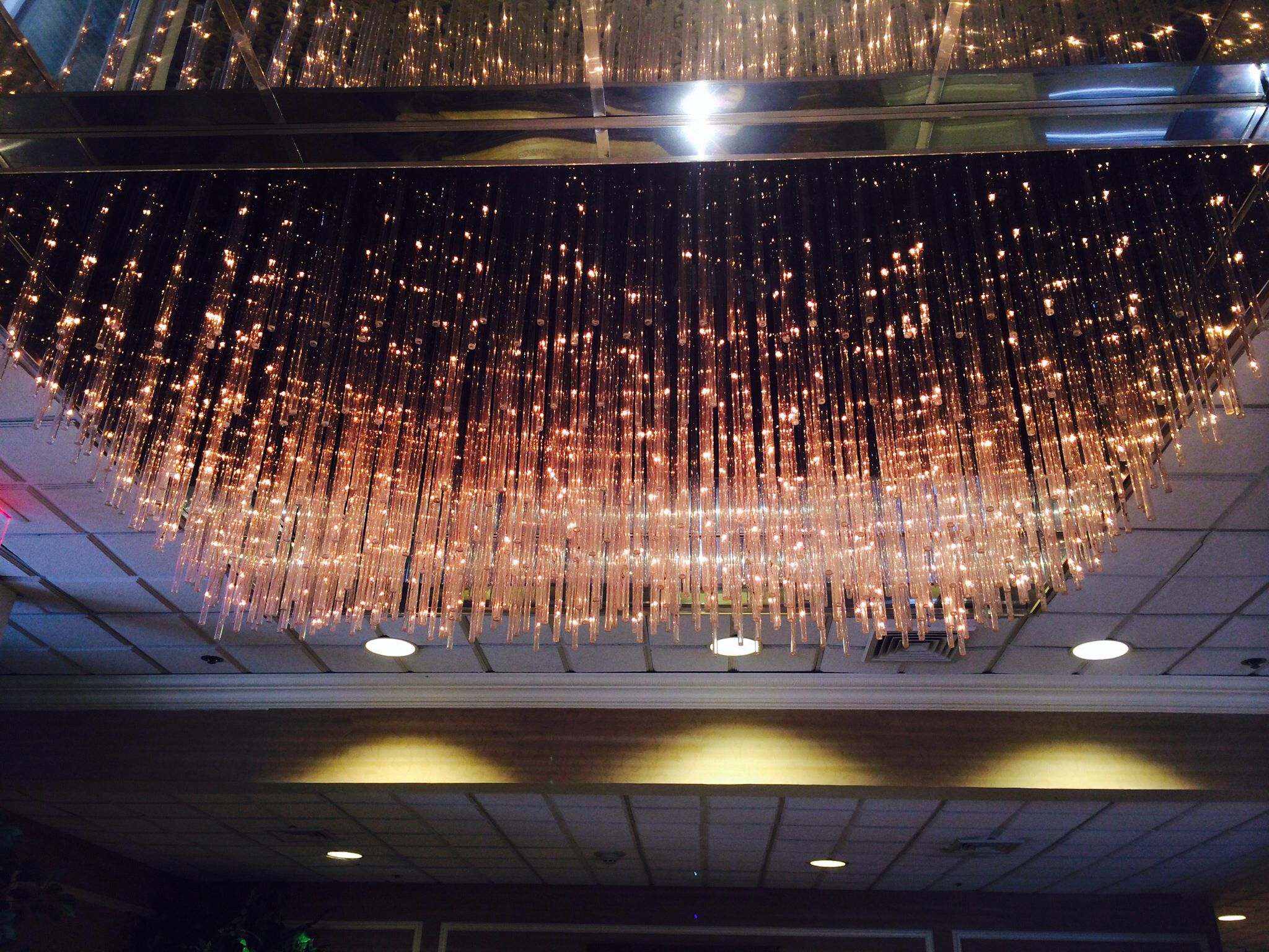 Chandelier from a hotel in nanuet ny very pretty love