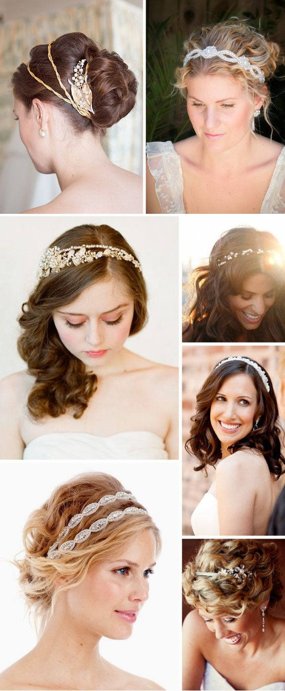 Headband hairstyles weddinghair pinterest wedding wedding