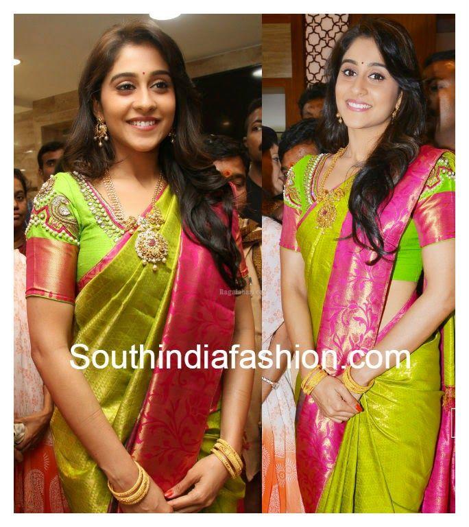 Regina In Kanjeevaram Saree