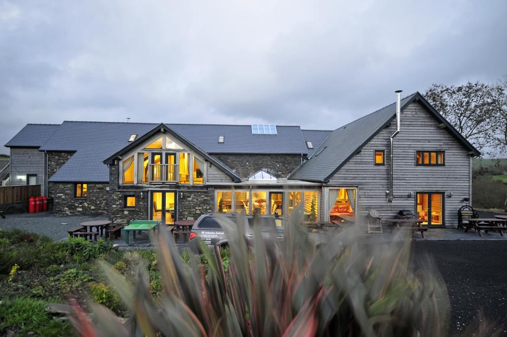 Devils Bridge Retreat is one in a million. This huge contemporary barn conversion is full of luxurious extras including a games room, cinema, music room, hot tub, even a full sized football/rugby pitch! https://www.qualitycottages.co.uk/aroundwales/flexible-devils-bridge-retreat/