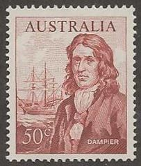 As production technology improved through the 20th century, off-center stamps became the exception so centering has much less impact on postage stamp value as with this 1966 Australia Scott #413.