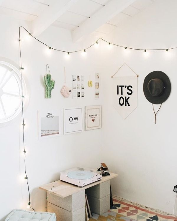 Uoonyou Urban Outfitters Minimalist Bedroom Room Minimalist Living Room #record #player #in #living #room
