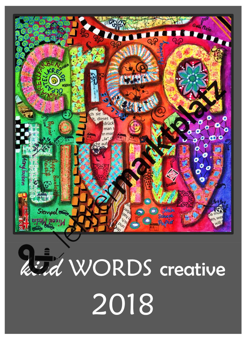 kind Words creative 2018 - Kalendervorlage mit Anleitung zum ...