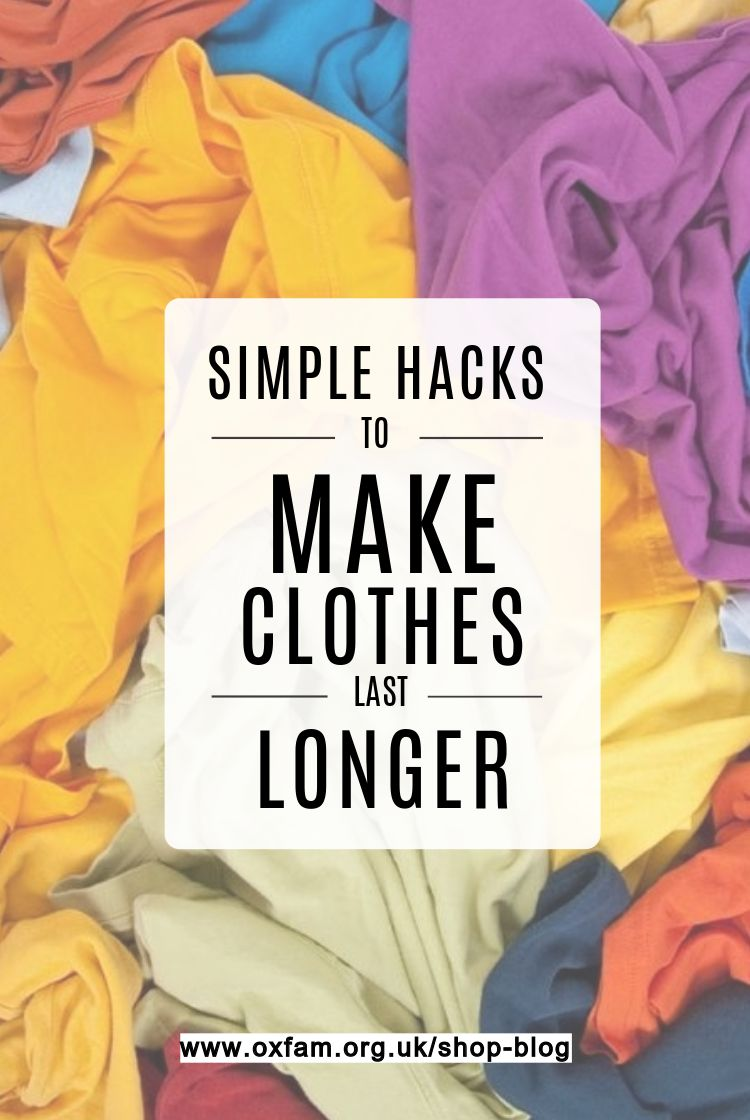 Find Out How To Extend The Life Of Your Clothes And Reduce Your Eco Impact With A Few Simple Changes To Your Laundry Rout Clothes Simple Tricks How To Make
