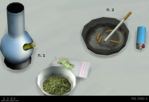 A3RU: Various Drug Clutter • Sims 4 Downloads | Sims | Sims