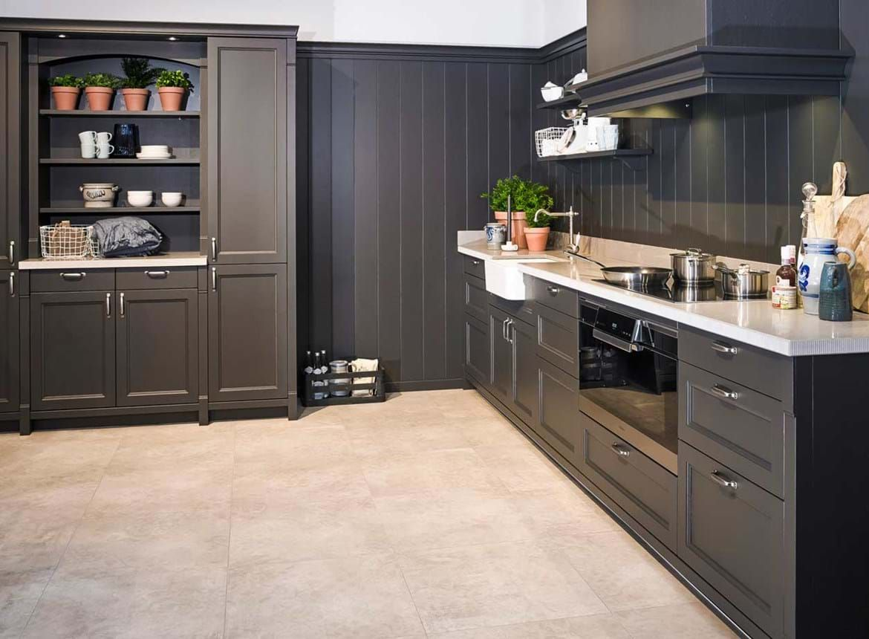 Keuken Witjes Achterwand : Achterwand landelijke keuken