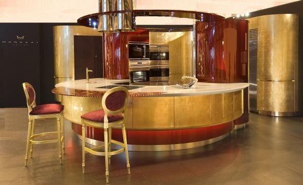 le cucine di design più belle del mondo - colosseo oro di marazzi ... - Le Cucine Piu Belle