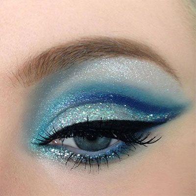 Blue Frozen Elsa   14 Easy Elsa-Inspired Makeup Looks All Frozen Fans Will Totally Obsess ...
