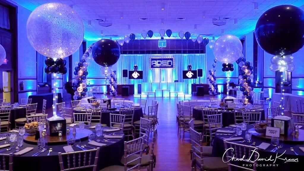 Uplighting · Party & Event Decor · Balloon Artistry#artistry #balloon #decor #event #party #uplighting