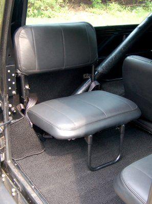 Jeff Scherb S Scrambler Overlander Project Interior Jump Seats