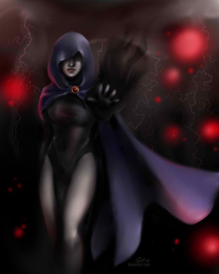 Raven by Gill-Goo.deviantart.com on @DeviantArt