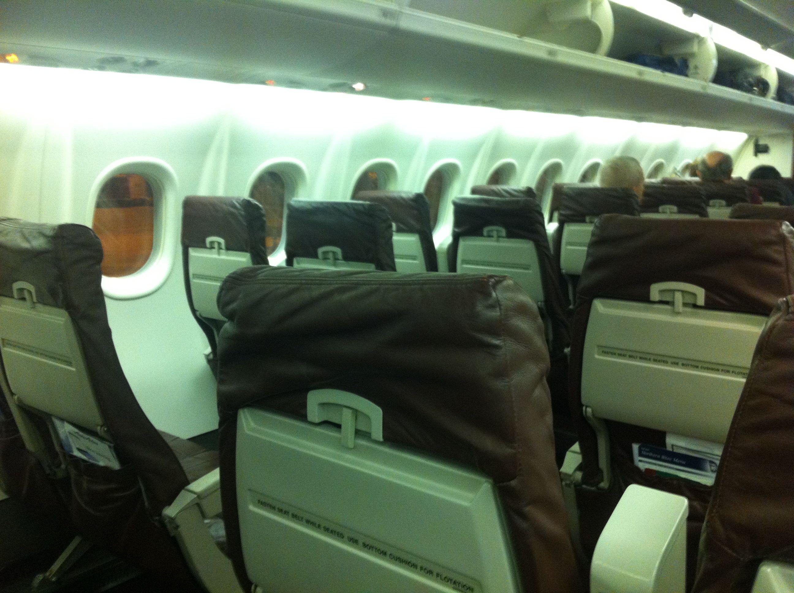 Empty Alaska Flight