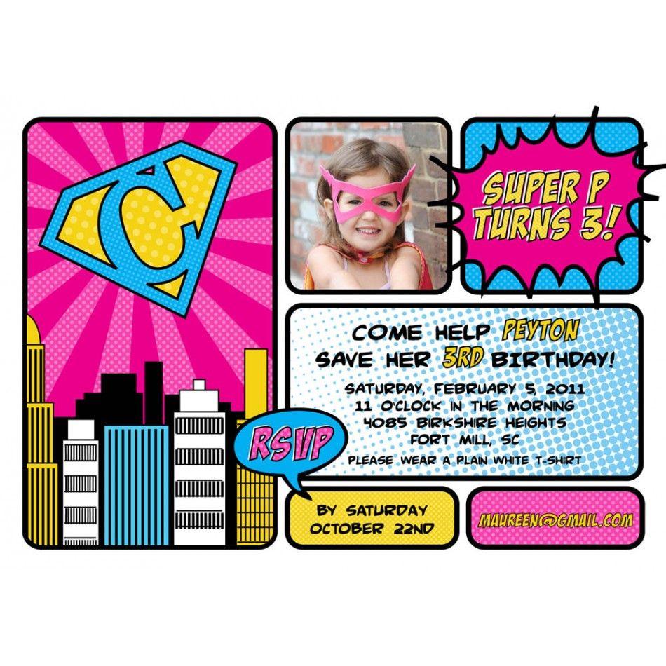 free printable superhero birthday cards