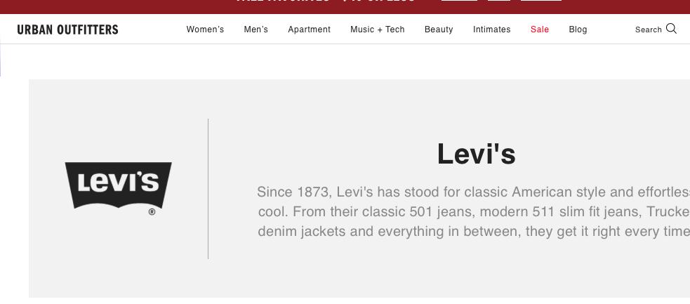 levis target market